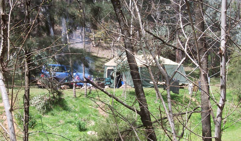 Abercrombie Caves campground
