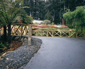 National Rhododendron Gardens - Accommodation Melbourne
