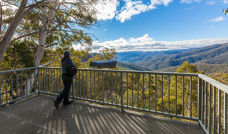 Wallace Creek lookout - Accommodation Melbourne