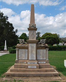 Boer War Memorial and Park, Allora